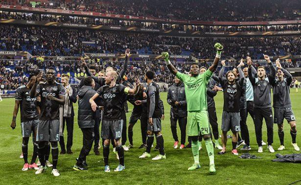 Ajax superó al Lyon en la Europa League