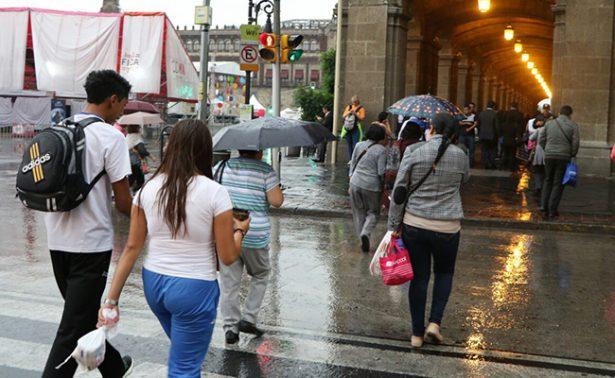 Se esperan lluvias en al menos 28 entidades del país por frente frío