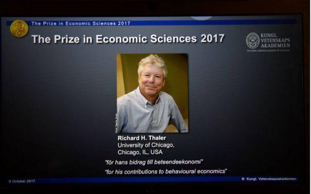 Richard H. Thaler, Premio Nobel de Economía