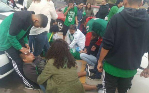 Se enfrentan porras de Xolos y Club León