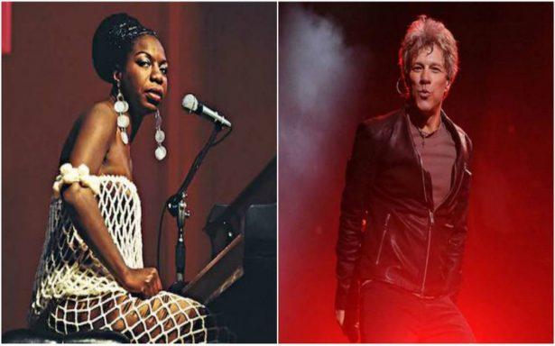 Bon Jovi y Nina Simone van al Salón de la Fama del Rock