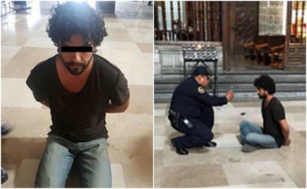 Juez vincula a proceso al presunto agresor del sacerdote en Catedral