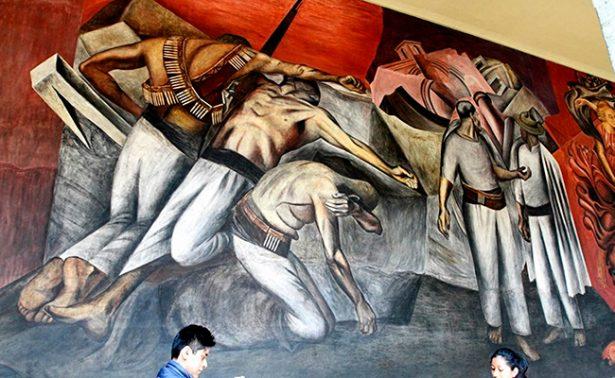 """Concluye muestra """"Pinta la Revolución"""" en el Palacio de Bellas Artes"""