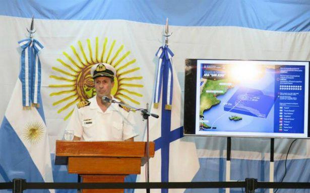 Descartan contacto con submarino argentino desaparecido