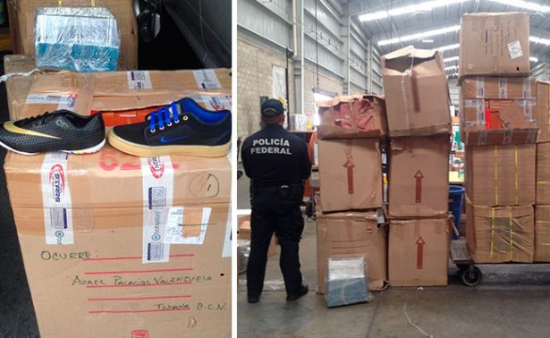"Confiscan 400 pares de tenis ""pirata"" en Guadalajara"
