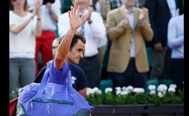 Roger Federer anuncia que no jugará el Roland Garros