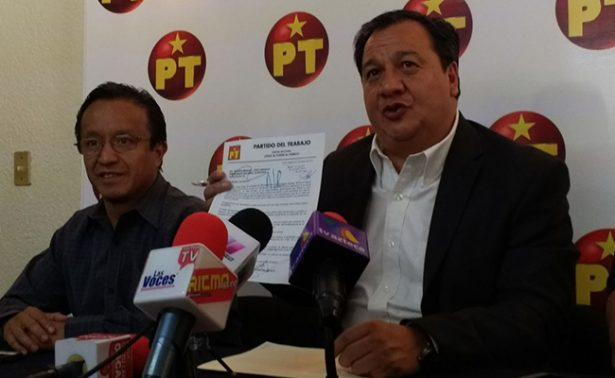 No habrá coalición entre PT y Morena: Oscar González Yañez