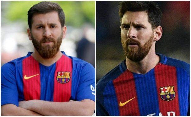 """¿Quién es quién? """"Gemelo"""" de Messi causa revuelo en Irán"""