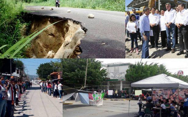 Después de un mes, persisten ecos de dolor en estados afectados por sismo