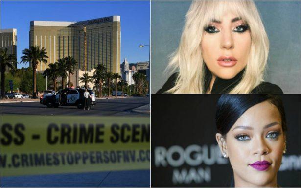 'Esto es simple y llanamente terrorismo', celebridades lloran la masacre en Las Vegas