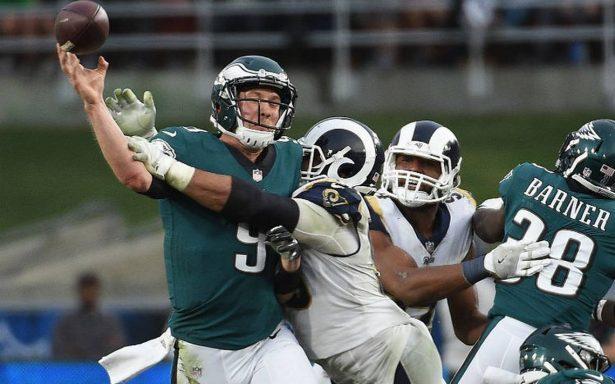Águilas vence 43-35 a Carneros y asegura título divisional en NFL 2017