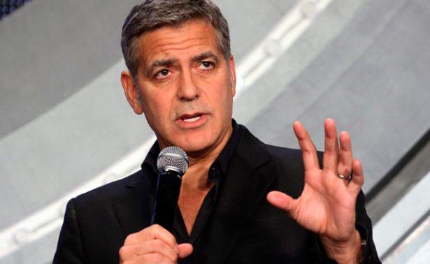 George Clooney contra el racismo: dona 1 mdd para combatir a grupos de odio