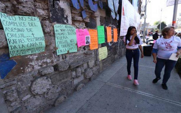 Víctimas y familiares del New's Divine, se oponen al regreso de Chiguil