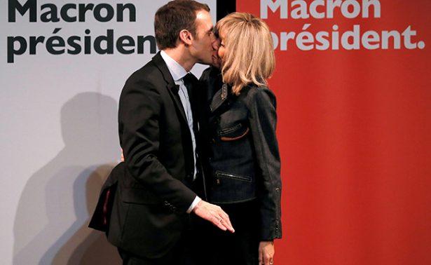 """Brigitte Macron, la profesora que lo dejó todo por un amor """"imposible"""""""