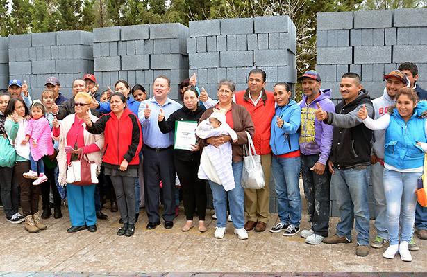Benefician a comunidades de Guadalupe