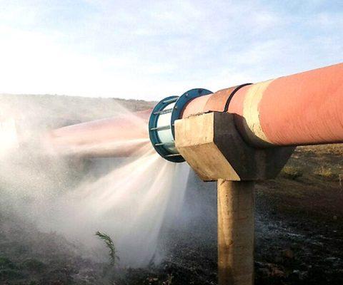 Fuga de agua interrumpe servicio en colonias capitalinas