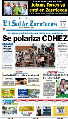 El Sol de Zacatecas 17 de Junio