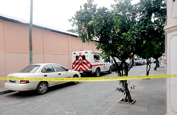 Asesinato en pleno centro de Jerez