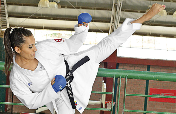 Haciendo del karate un estilo de vida