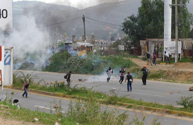 Rechazan empresarios violencia en Oaxaca