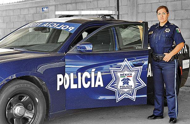 Mujeres policías ganan terreno
