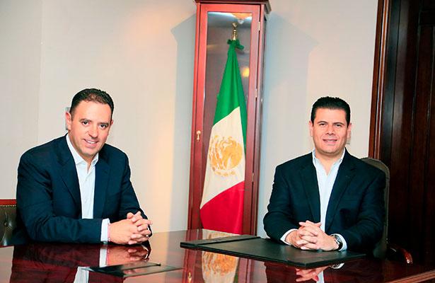 Se reúnen Miguel Alonso y Alejandro Tello