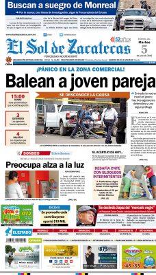 El Sol de Zacatecas 5 de julio