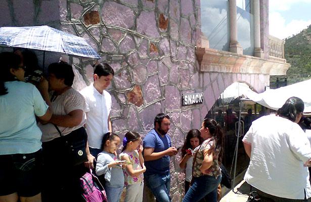 Muy concurrido el teleférico en Zacatecas