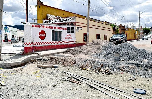 Desviarán las rutas 6 y 15 en Guadalupe