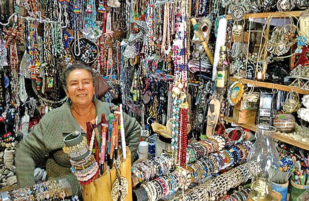 Doña María, la primera vendedora en La Bufa