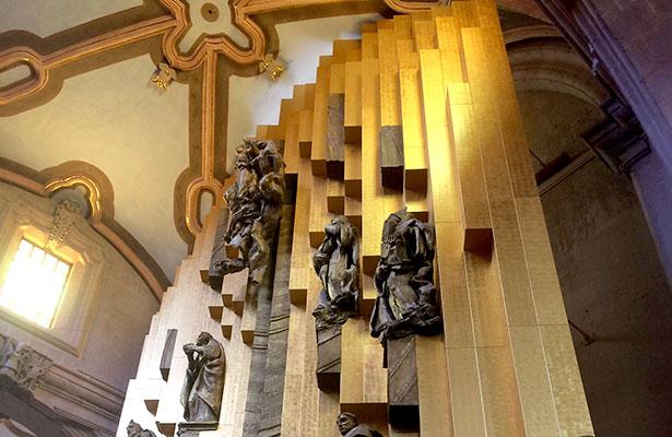 Altar de oro de la Catedral, atractivo en la ciudad de Zacatecas