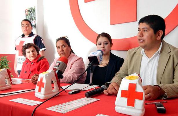 Incumplirán meta de colecta de Cruz Roja