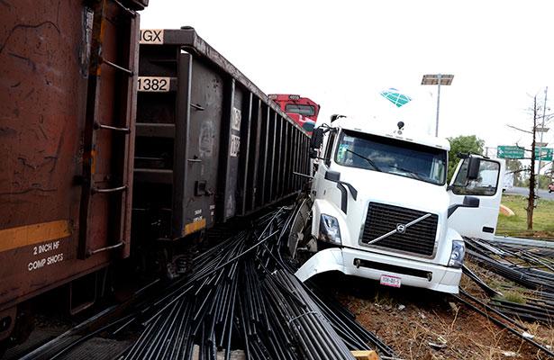 Tomarán medidas drásticas en cruces de ferrocarril