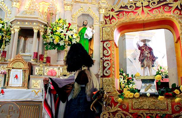 Celebran a Santo Santiago en Moyahua