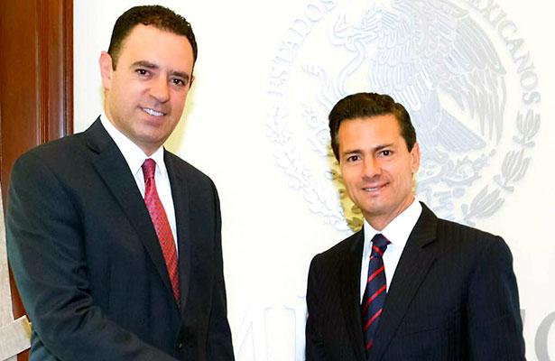 Se reúne Alejandro Tello con Peña Nieto