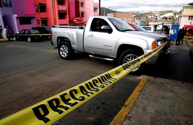 Zacatecas arriba de la media nacional en homicidios
