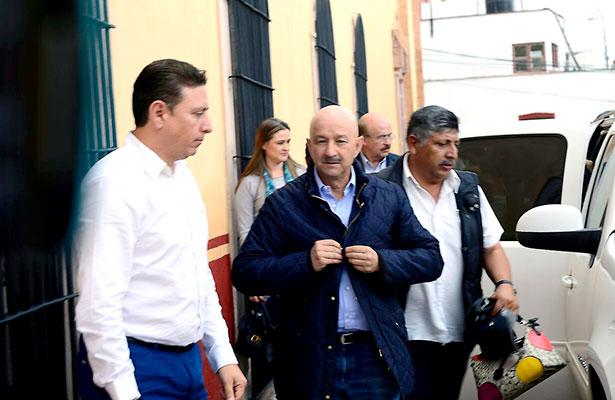 Carlos Salinas de Gortari en Zacatecas