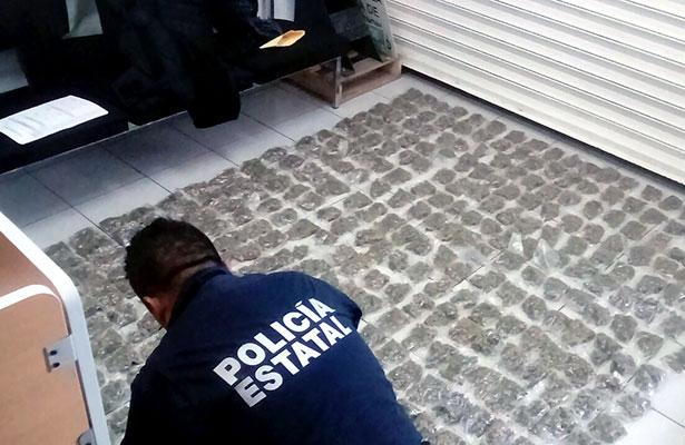 Aseguran más de 500 dosis de droga en Fresnillo; hay tres detenidos