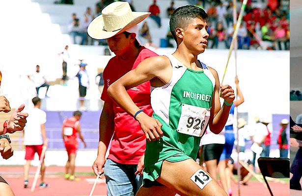 Bronce para Zacatecas en la Olimpiada de Atletismo