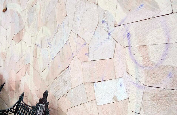 Vandalismo en la Alameda