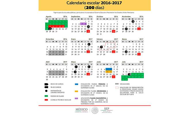 Zacatecas optaría calendario de 200 días