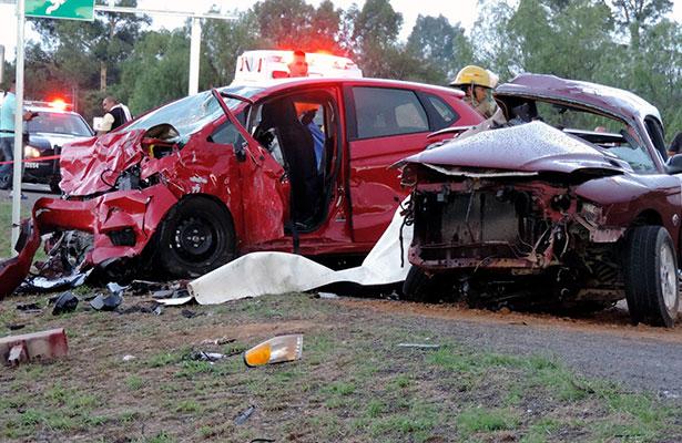 Carreterazo en Aguascalientes; mueren siete