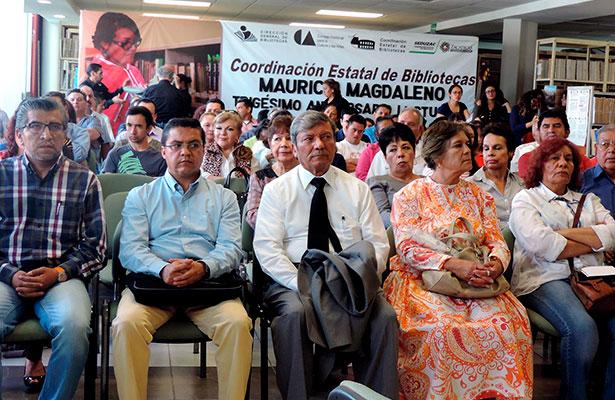 Rinden un homenaje a Mauricio Magdaleno