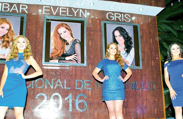 Develan fotografías de candidatas a reina de la Fenafre