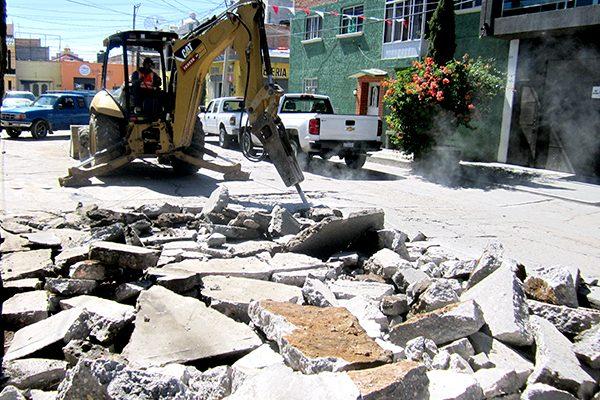 Constructora deja sin agua a Fresnillo