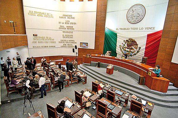 ¿Quiénes liderarán el Congreso de Zacatecas?