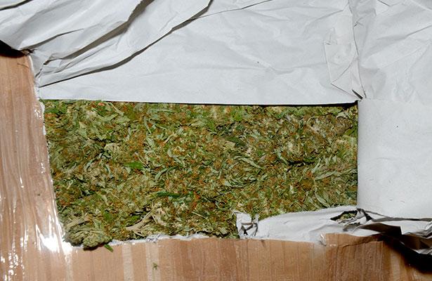 Los detienen con 107 kilos de marihuana