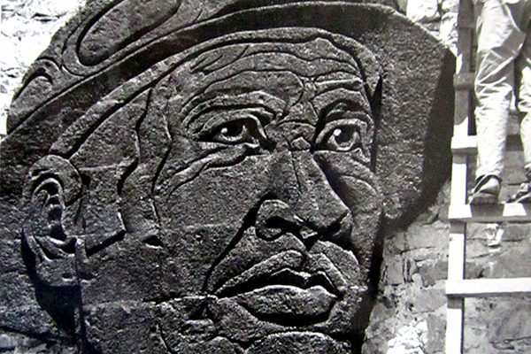 Olvidado el monumento al minero en Fresnillo