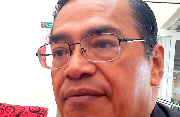 Oscar Castruita, dirigente del SNTE 58