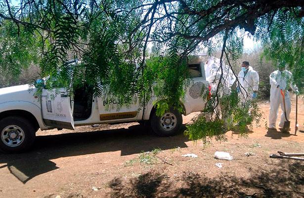 Localizan restos calcinados en Loreto, Zacatecas